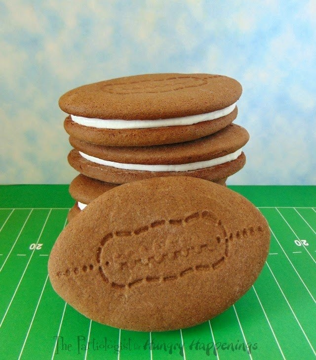 Football Whoopie Pies www.ThePartiologist.com