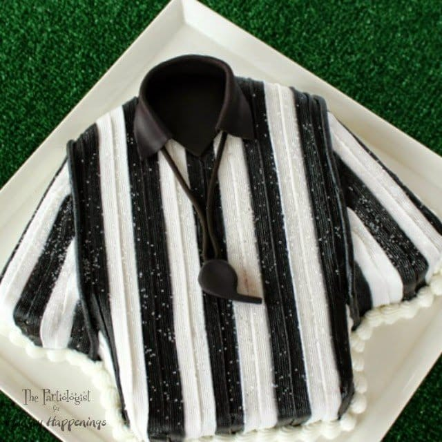 Referee Cake www.ThePartiologist.com