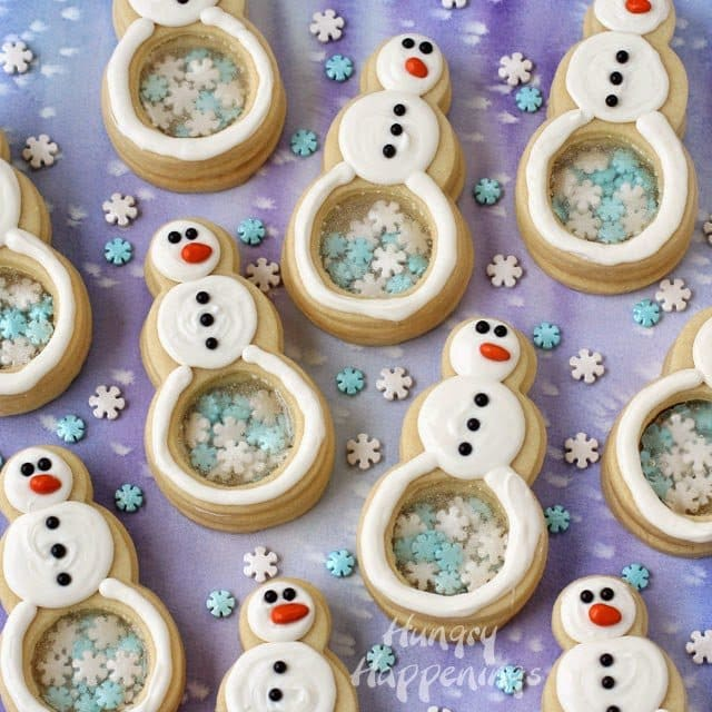 Homemade Snowman Treats from HungryHappenings.com