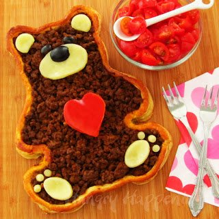 Valentine's Day Teddy Bear food
