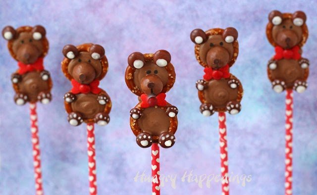 Pretzel Bears from HungryHappenings.com