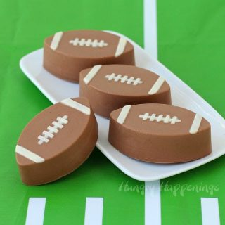 4 Ingredient Reese's Fudge Footballs