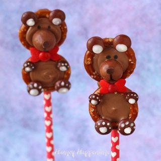 Sweet and Salty Teddy Bear Pretzels