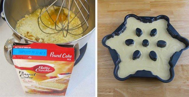 Easy Eggnog Pound Cake Recipe using Betty Crocker Pound Cake Mix   HungryHappenings.com