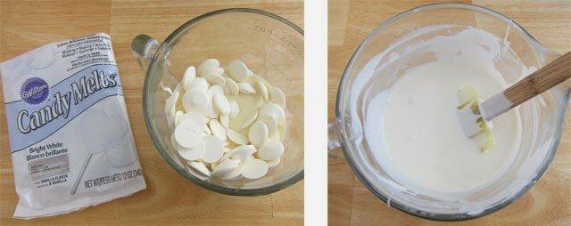 Bright White Eggnog Ganache
