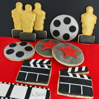 Academy Award Cookies – Oscars, Clapboards, Movie Reels, and Stars