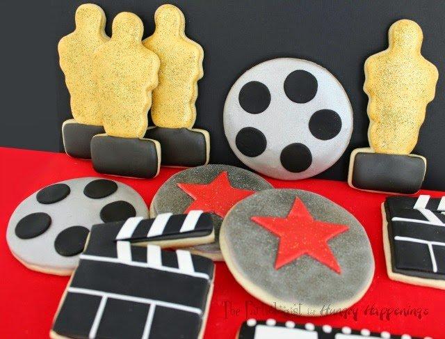 Academy Award Cookies www.ThePartiologist.com