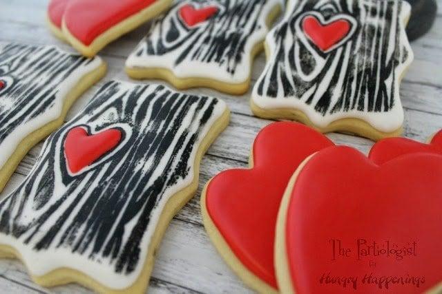 Valentine Cookies www.ThePartiologist.com