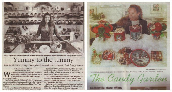 Beth Jackson Klosterboer owner, BJaiz Yum Yum Shoppe and Candy Garden