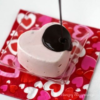 Dairy-Free Chocolate Covered Strawberry Mousse Hearts