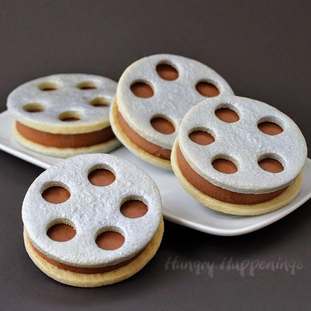 Film Reel Ice Cream Sandwiches