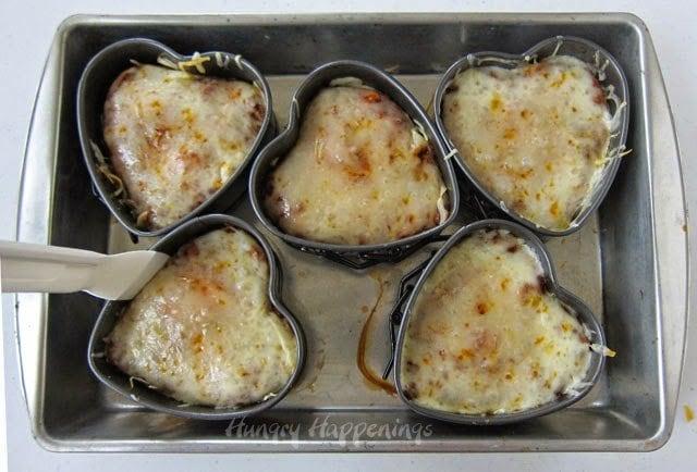 Chicken Enchilada Hearts recipe - HungryHappenings.com