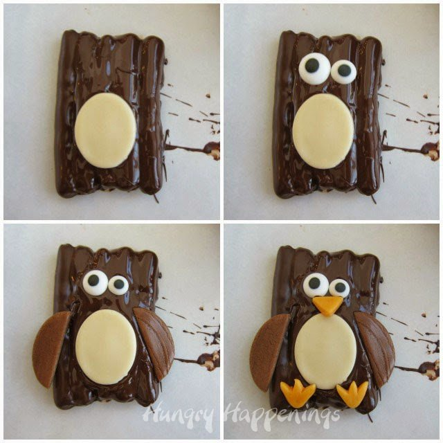 How to make Chocolate Pretzel Penguins | HungryHappenings.com