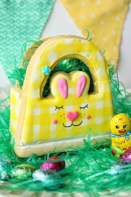 3D Bunny Basket for Easter