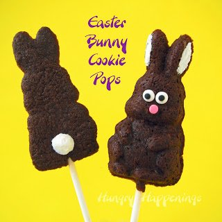 Bunny Butt Cookie Pops