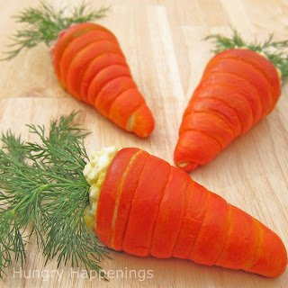 Crescent Dough Carrots