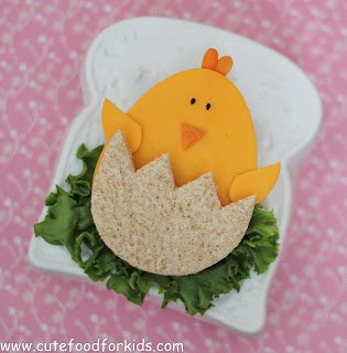 Baby Chick Easter Sandwich