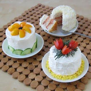 Mini Smorgastarta (Sandwich Cakes)