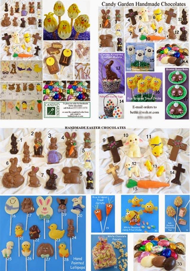 Homemade Easter Chocolates