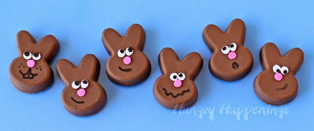 Reese's Fudge Easter Bunnies