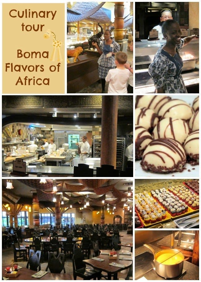Culinary Tour of Boma, Flavors of Africa at the Animal Kingdom Lodge Walt Disney World Resort