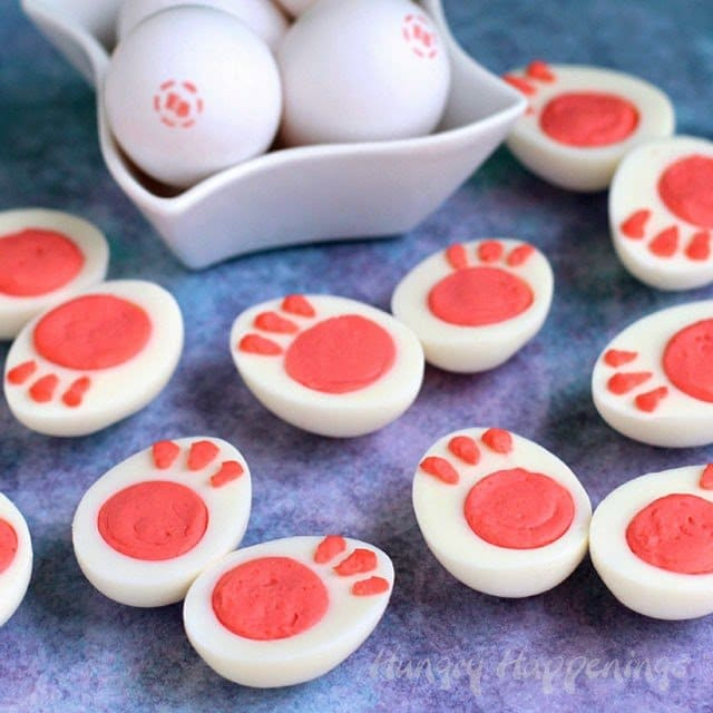why serve ordinary deviled eggs this easter when you can present your family with these adorable