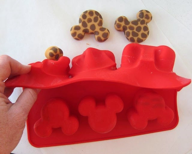 Mickey Mouse Silicone Molds make great candy molds.