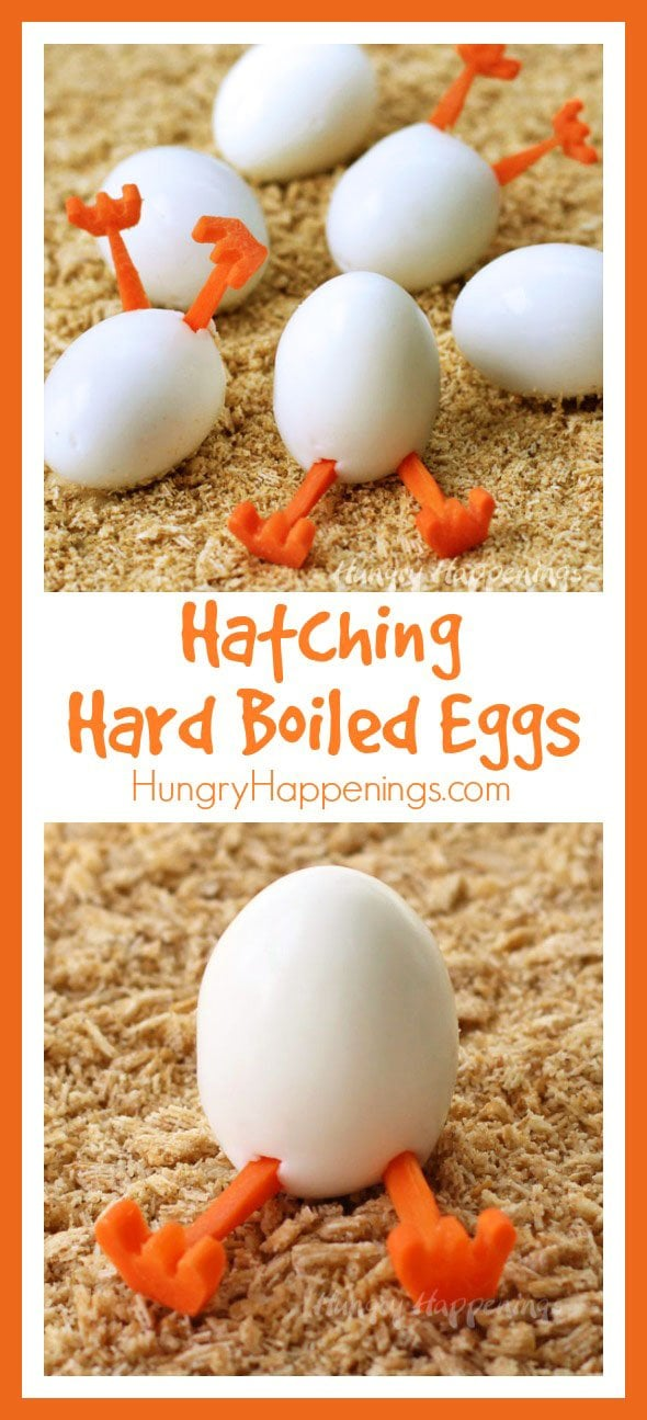 Want something fun to do with all those hard boiled eggs you have on hand this Easter? Create some hilarious Hatching Chick Hard Boiled Eggs.