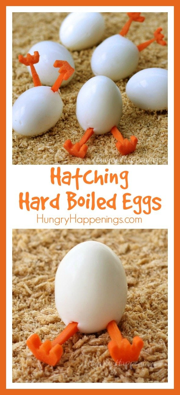 Want something fun to do with all those hard boiled eggs you have on hand this Easter? Create some hilarious Hatching Hard Boiled Eggs.