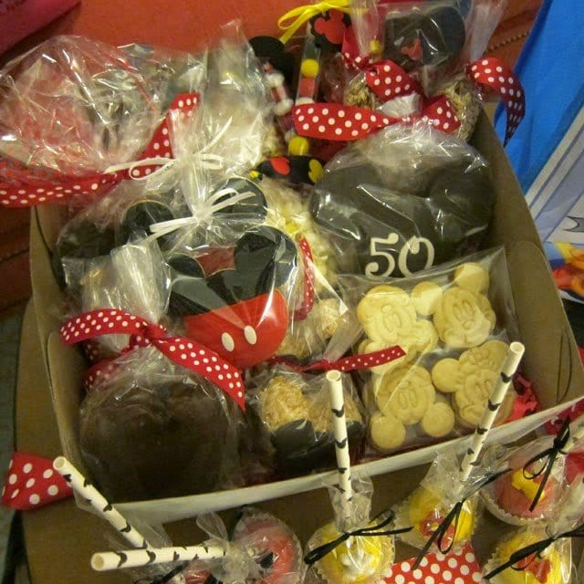 Disney Themed Treats, cookies, brownies, cake pops, chocolates, and more.