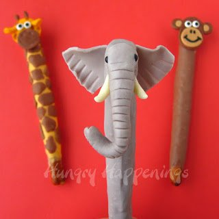 Jungle animal treats