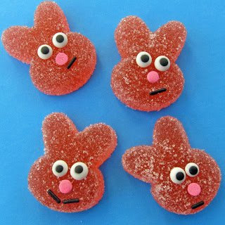 Homemade Sour Gummy Bunnies