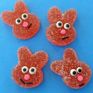 Homemade Sour Gummy Bunnies