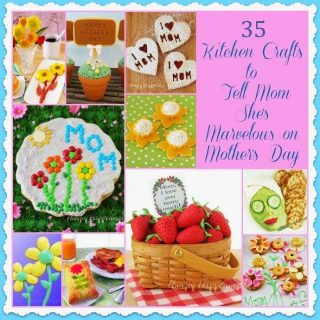 35 Mother's Day Recipes and Food Crafts