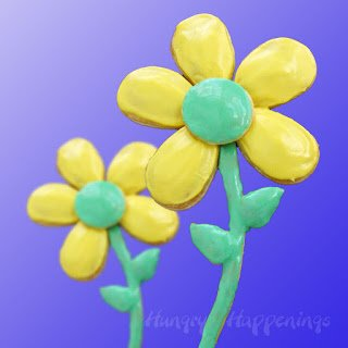 Kids will have a blast creating daisy pastries for mom on Mother's Day.
