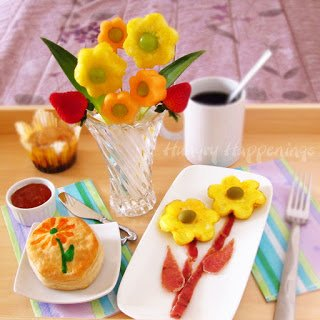 Tell your mom just how much you care by serving her a beautiful breakfast in bed on Mother's Day.