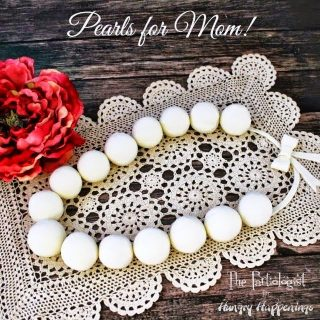 Edible Pearls for Mother's Day