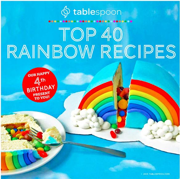 Tablespoon's top 40 rainbow recipes