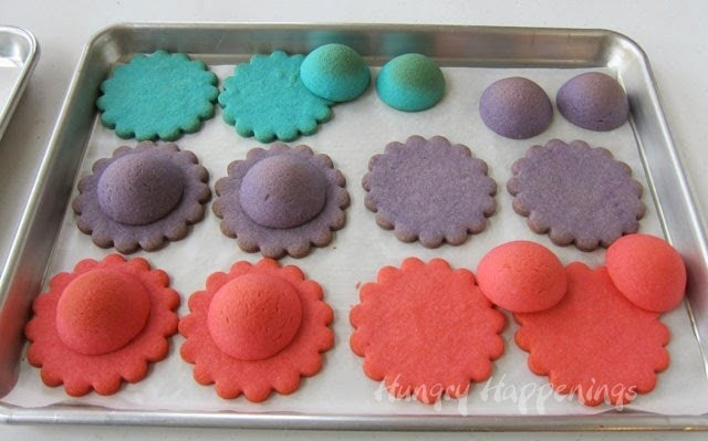 Ladies' Hat Piñata Cookies Mother's Day recipe