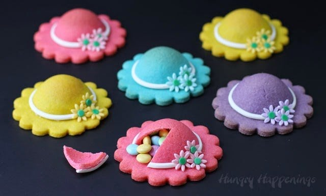 cute bonnet cookies filled with treats recipe