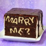 Surprise your sweetheart by proposing with this clever Marry Me? Reveal Cake. When your sweetie cuts into this cake your proposal will be revealed.