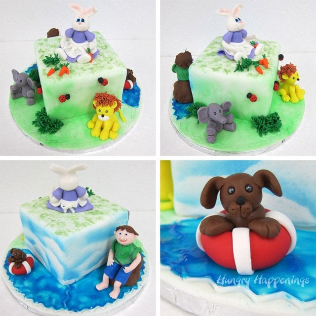 Learn how to create all these adorable fondant figurines at Wilton's Fundamentals of Modeling Class.