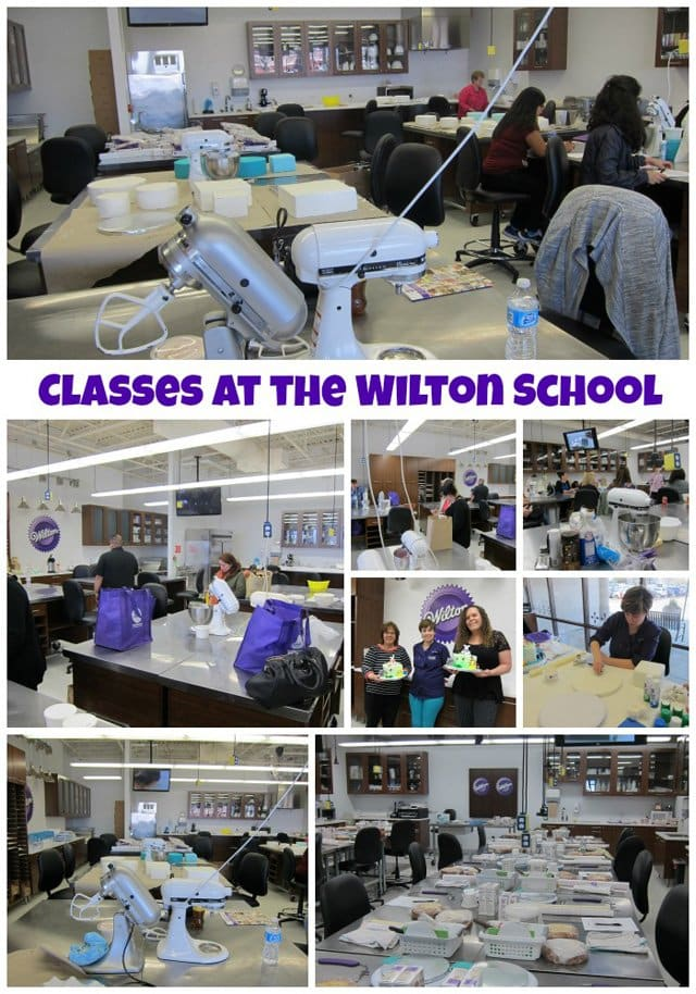 Wilton School of Cake Decorating in Darien, Illinois