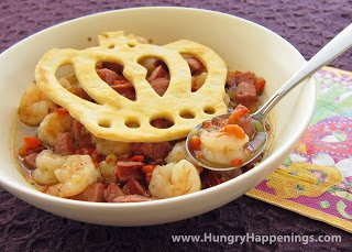 Fun Food for Father's Day - Pastry Crown topped Gumbo | Hungry Happenings