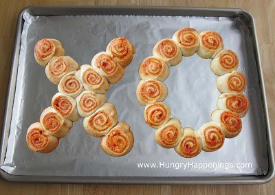 Fun Food for Father's Day - Hugs and Kisses Pinwheels | Hungry Happenings