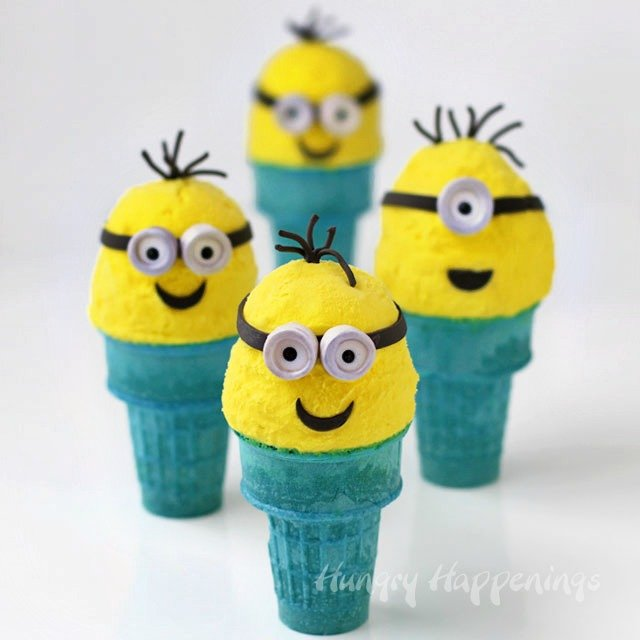 Kids love Minions and ice cream, so combine the two into Ice Cream Cone Minions and give them a treat they'll never forget.
