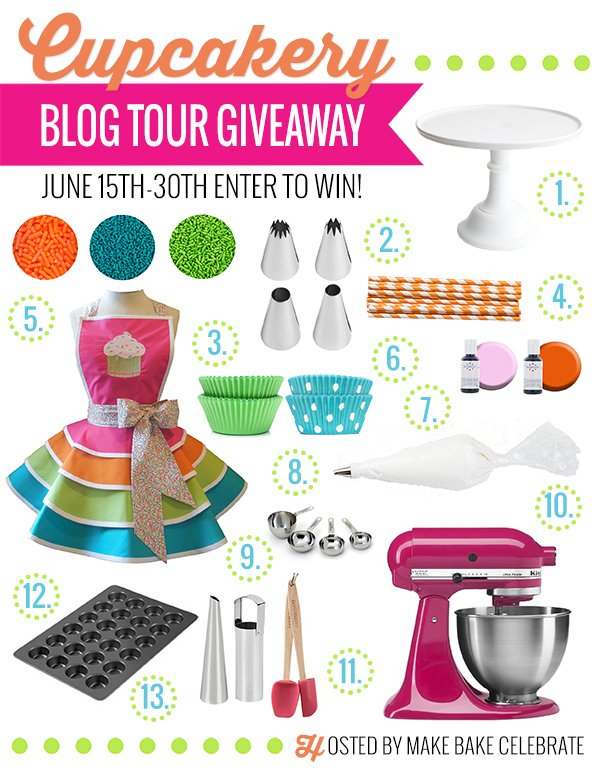 Enter to win this amazing prize pack from Cupcakery