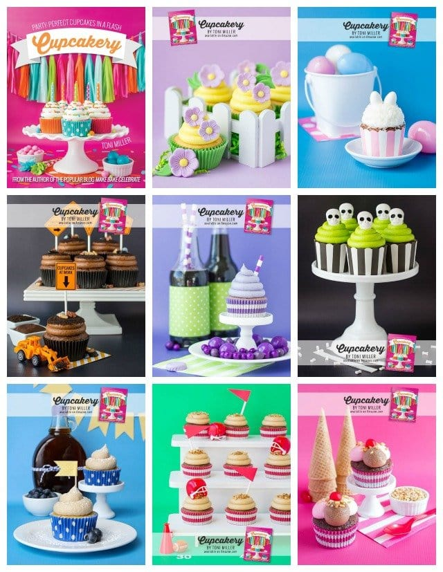 Fun cupcake ideas from Cupcakery