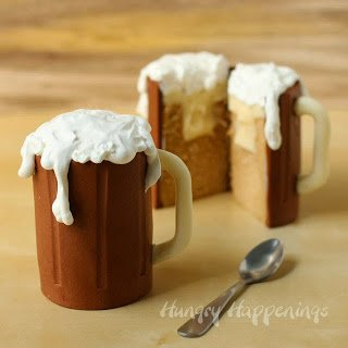 Serve up a mug of root beer cake for Father's Day