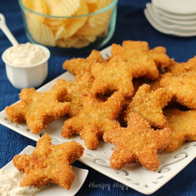 Make your beach party extra special by serving some Chip and Dip Chicken Starfish. These crispy and juicy appetizers are easy to make and fun to eat.